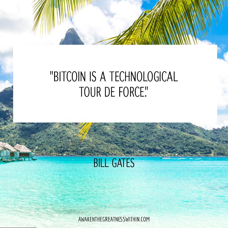 Bitcoin is a technological tour de force.